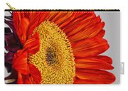 Red Sunflower V Carry-all Pouch