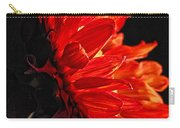 Red Sunflower Vi Carry-all Pouch