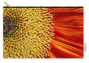 Red Sunflower Viiii Carry-all Pouch