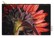 Red Sunflower X Carry-all Pouch