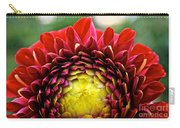 Red Sunrise Dahlia Carry-all Pouch