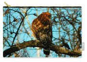 Red Tail Hawk Visitor Carry-all Pouch