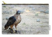 Red Tailed Hawk Catch Carry-all Pouch