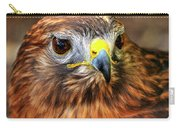 Red-tailed Hawk Portrait Carry-all Pouch