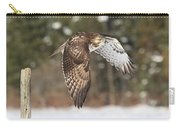 Red Tailed Take-off Carry-all Pouch