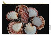 Red-toned Seashells Carry-all Pouch