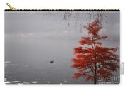 Red Tree On The Lake Front Carry-all Pouch