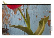 Red Tulip Bending Carry-all Pouch