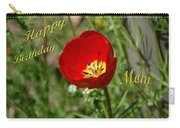 Red Tulip Birthday Carry-all Pouch