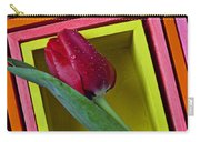 Red Tulip In Box Carry-all Pouch
