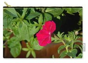 Red Velvet Petunia Carry-all Pouch