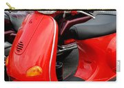Red Vespa Vintage Scooter Motorcycle Carry-all Pouch