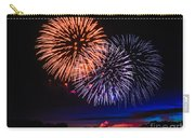 Red White And Blue Carry-all Pouch by Robert Bales