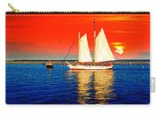 Red White Blue Cape Cod Will Do Carry-all Pouch