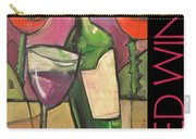 Red Wine Poster Carry-all Pouch