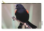 Red-winged Blackbird - Are You Listening Carry-all Pouch