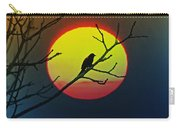 Red Winged Blackbird In The Sun Carry-all Pouch