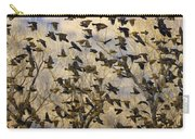 Red-winged Blackbirds At Sunset Carry-all Pouch