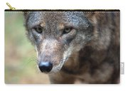 Red Wolf Closeup Carry-all Pouch