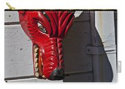 Red Wolf Mask Carry-all Pouch