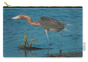 Reddish Egret Hunting Carry-all Pouch