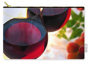 Reds At Afternoon Carry-all Pouch by Elaine Plesser