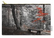 Reds In The Woods Carry-all Pouch