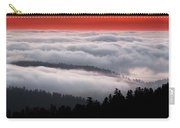 Redwood Clouds Carry-all Pouch