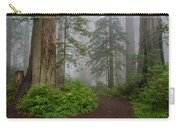 Redwoods Rising In Fog Carry-all Pouch