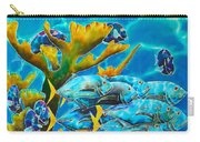 Reef Fish Carry-all Pouch by Daniel Jean-Baptiste