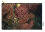 Reef Sponge Coral And Yellow Fish Carry-all Pouch