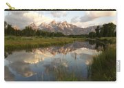Reflection At Schwabacher Landing Carry-all Pouch