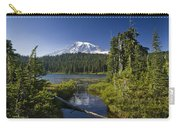 Reflection Lake With Mount Rainier Carry-all Pouch