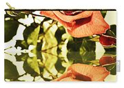 Reflection Of A Warm Rose Carry-all Pouch