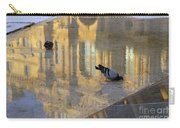 Reflection Of The Louvre In Paris Carry-all Pouch