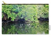 Reflection On The North Fork River Carry-all Pouch