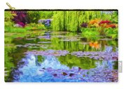 Reflections At Giverny Carry-all Pouch