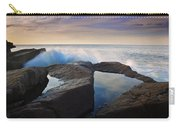 Reflections In Monument Cove Carry-all Pouch
