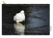 Reflections Of An Egret  Carry-all Pouch