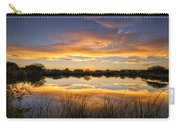 Reflections Of Gold  Carry-all Pouch by Saija  Lehtonen
