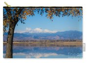 Reflections Of Longs Peak  Carry-all Pouch