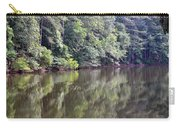 Reflections On Aldridge Lake Carry-all Pouch