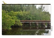 Reflections On The North Fork River Carry-all Pouch