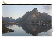 Reine Village In Early Morning Light Carry-all Pouch