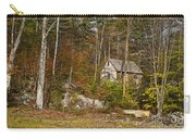 Remote Vermont Cabin Carry-all Pouch