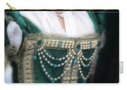 Renaissance Lady In Green Carry-all Pouch