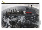 Replenishment At Sea Between Usns Carry-all Pouch