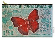 Republique Centrafricaine Butterfly Stamp Carry-all Pouch