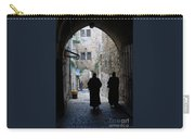 Residents Of Jerusalem Old City Carry-all Pouch