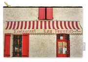 Restaurant In Provence Carry-all Pouch